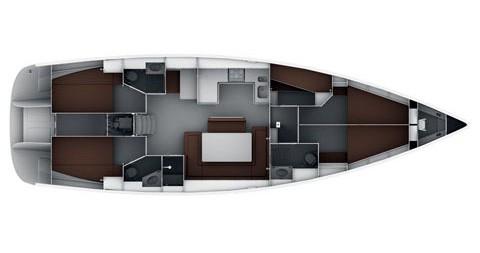 Bavaria Cruiser 50 te huur van particulier of professional in Sukošan