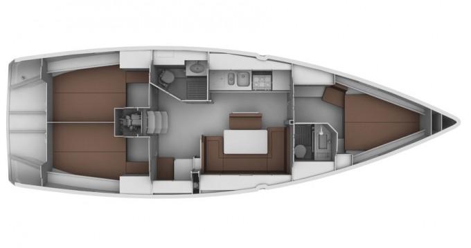 Verhuur Zeilboot in Sukošan - Bavaria Bavaria 40 BT '13