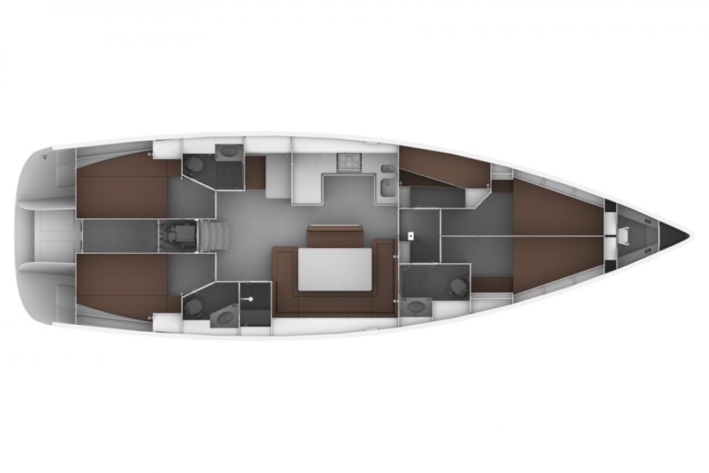 Bootverhuur Bavaria Bavaria 50 BT '12 in  via SamBoat