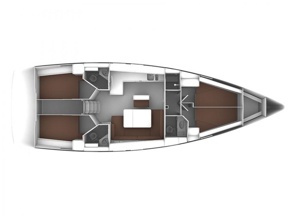 Verhuur Zeilboot in Sukošan - Bavaria Bavaria 46 BT '15