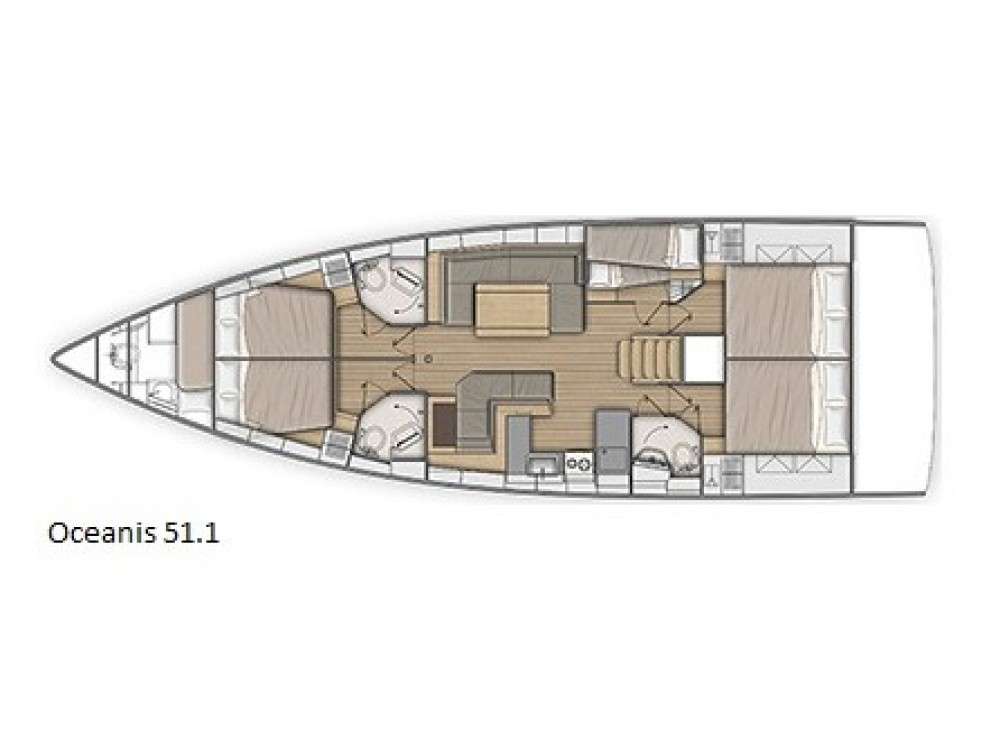 Bootverhuur Bénéteau Oceanis 51.1 in Marina de Alimos via SamBoat