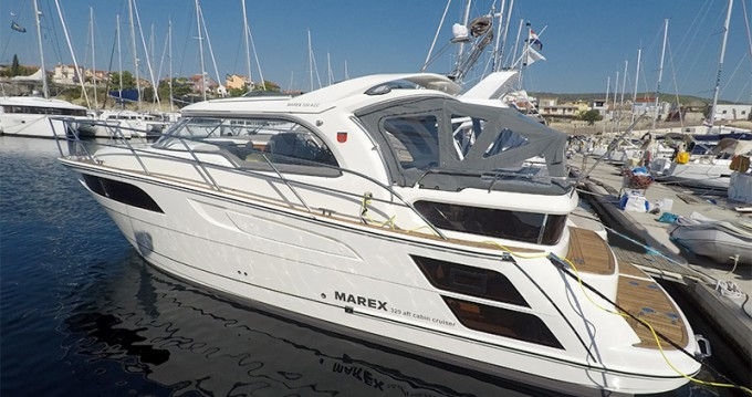 Verhuur Motorboot Marex met vaarbewijs