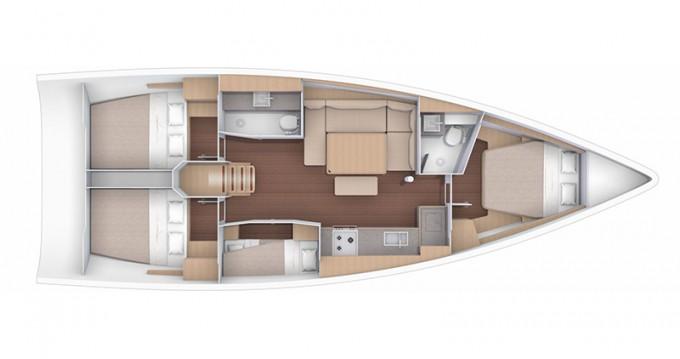 Verhuur Zeilboot in Šibenik - Dufour Dufour 430 GL