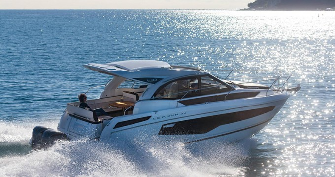 Verhuur Motorboot in Šibenik - Jeanneau Leader 33