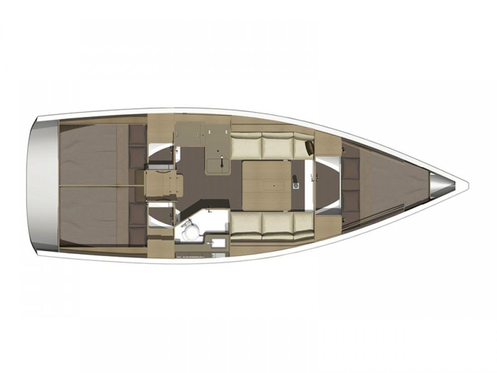 Verhuur Zeilboot in Šibenik - Dufour Dufour 350 GL