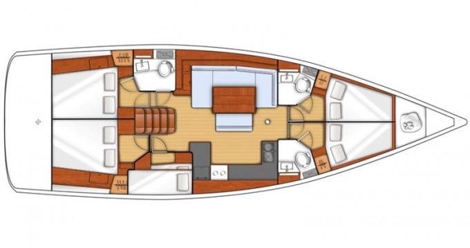 Verhuur Zeilboot in Skiathos - Bénéteau Oceanis 48