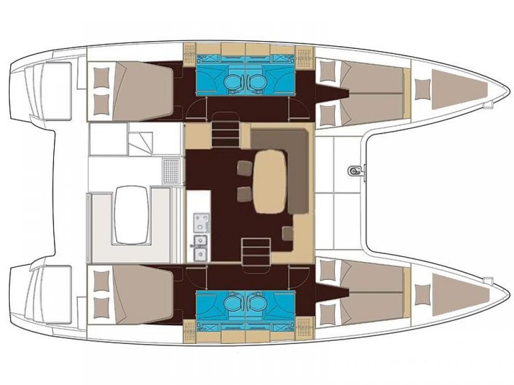 Verhuur Catamaran in San Vincenzo - Lagoon Lagoon 400