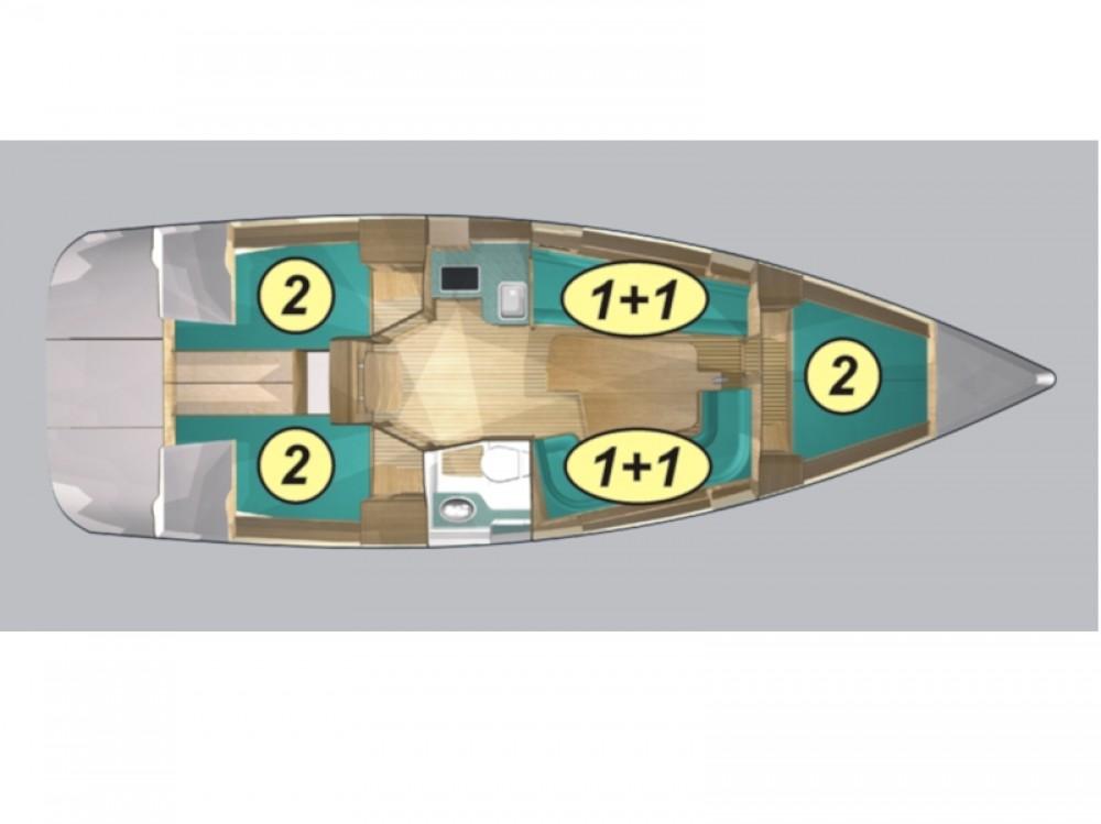 Verhuur Zeilboot in Port PTTK Wilkasy - Northman Maxus 33.1 RS Standard