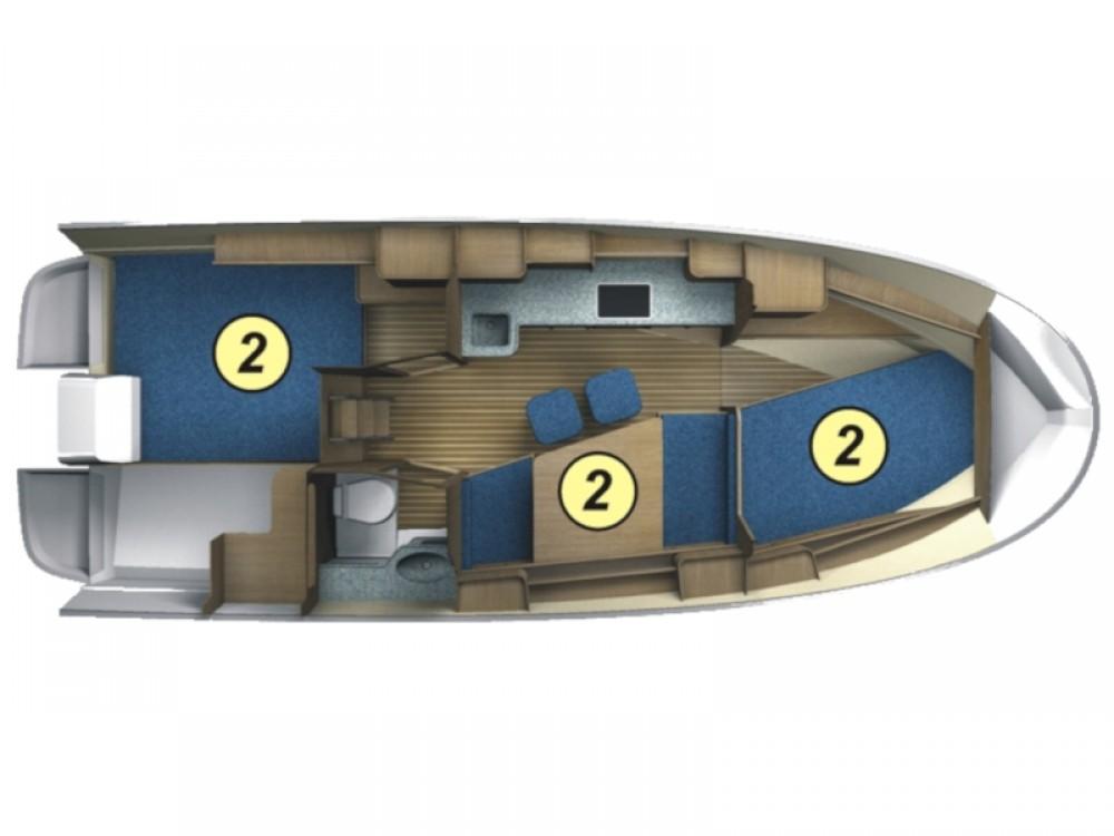 Huur Motorboot met of zonder schipper Northman in Port PTTK Wilkasy