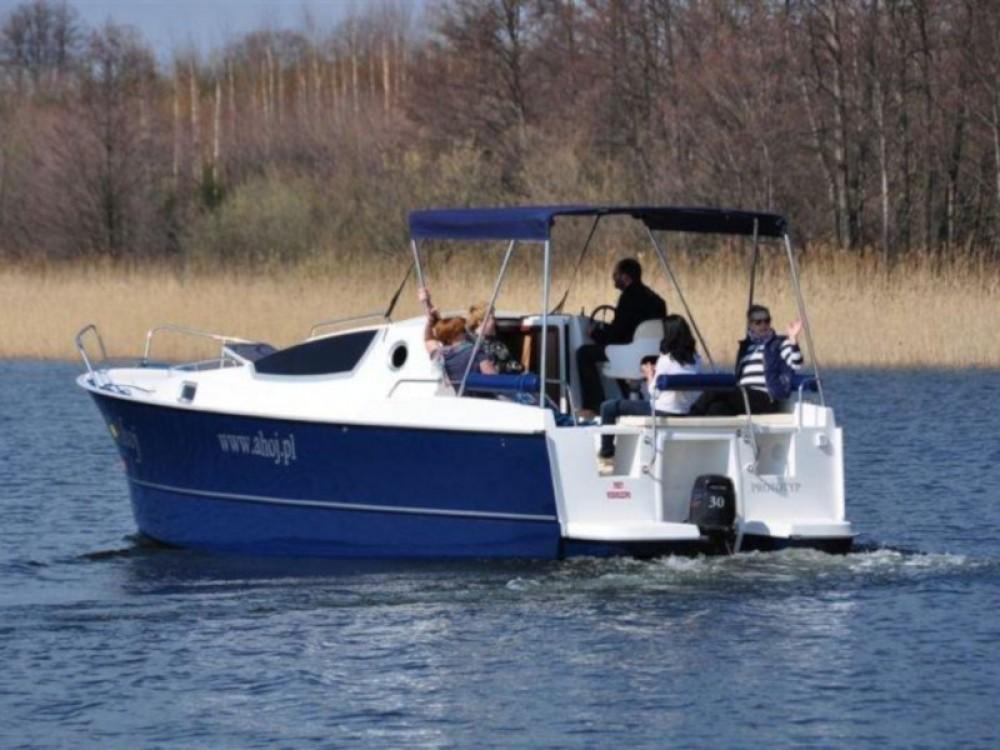 Motorboot te huur in Port PTTK Wilkasy voor de beste prijs