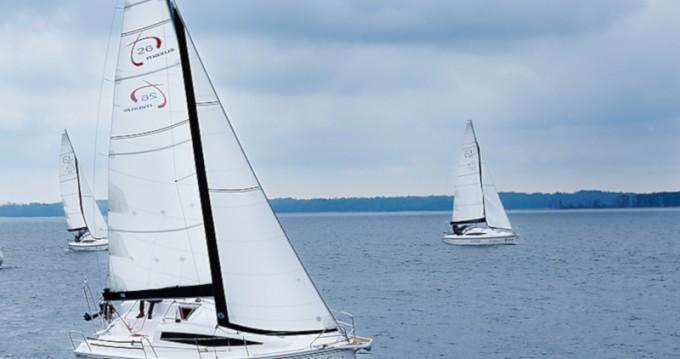 Verhuur Zeilboot in Wilkasy - Northman Maxus 26 Prestige 7/2