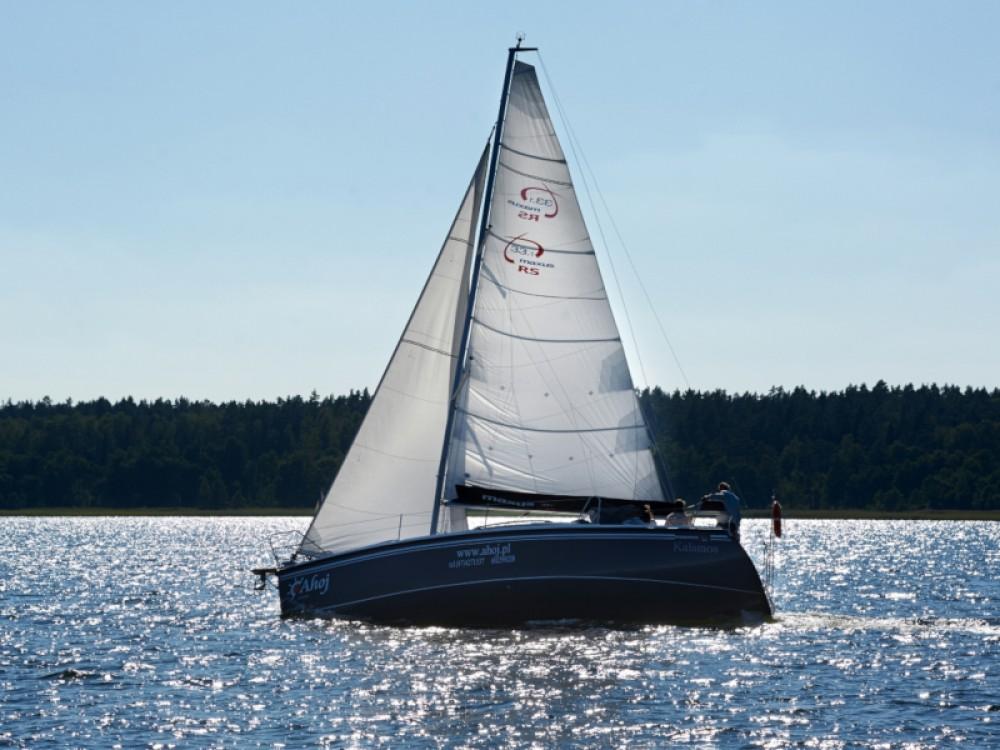 Verhuur Zeilboot in Węgorzewo - Northman Maxus 33.1 RS Standard