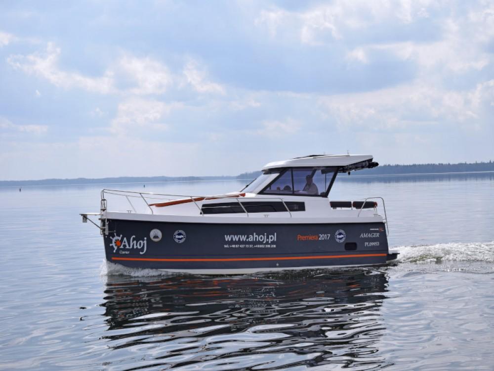 Motorboot te huur in Węgorzewo voor de beste prijs