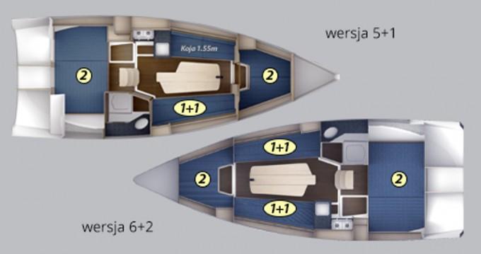 Huur Zeilboot met of zonder schipper Northman in Wilkasy
