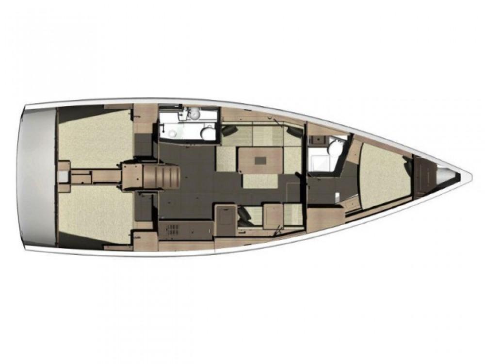 Bootverhuur Primošten goedkoop Dufour 410 Grand Large