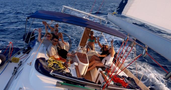 Huur een Dufour Gib Sea 51 in Paros
