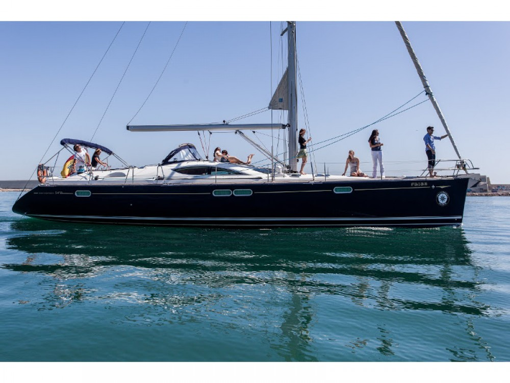 Bootverhuur Jeanneau Jeanneau Sun Odyssey 54DS in Palma via SamBoat