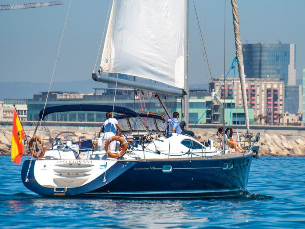 Bootverhuur Palma goedkoop Jeanneau Sun Odyssey 54DS