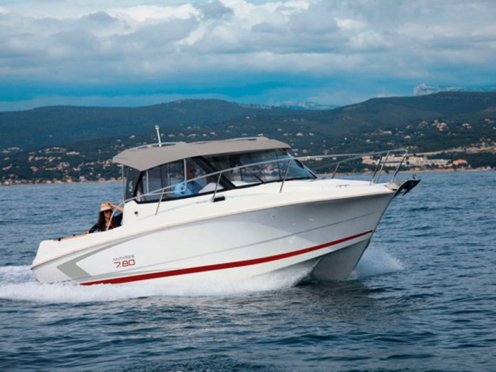 Jachthuur in ACI Marina Trogir - Bénéteau Beneteau Antares 7.80 via SamBoat