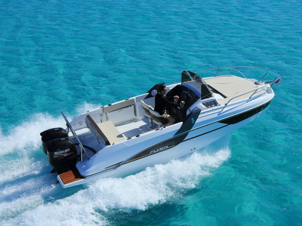 Verhuur Motorboot in ACI Marina Trogir - Bénéteau Beneteau Flyer 7.7 SUNdeck