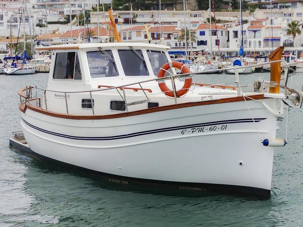Bootverhuur Sitges goedkoop Menorquina Yacht 100