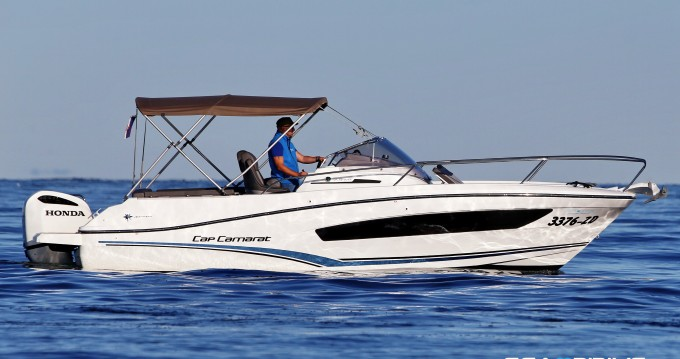 Bootverhuur Jeanneau Cap Camarat 7.5 in Zadar via SamBoat