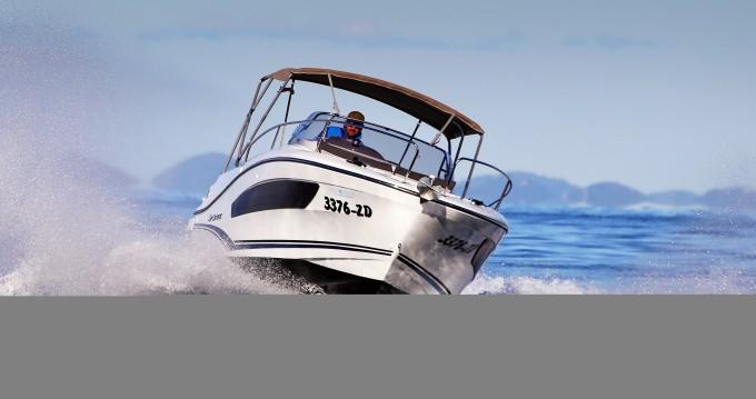 Bootverhuur Zadar goedkoop Cap Camarat 7.5