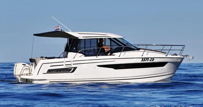 Bootverhuur Zadar goedkoop Merry Fisher 895