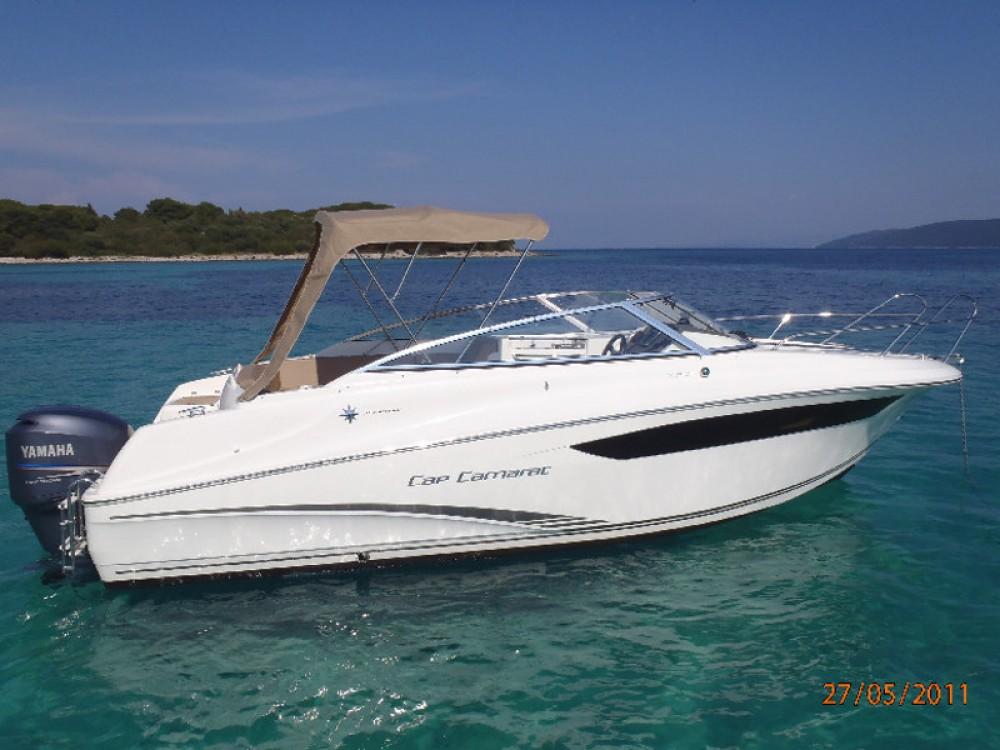 Verhuur Motorboot in Sitges - Jeanneau Jeanneau Cap Camarat 7.5 DC