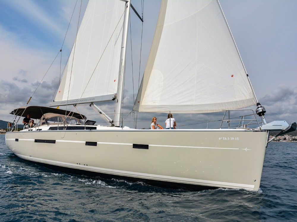 Verhuur Zeilboot in Port esportiu d'Aiguadolç - Bavaria Bavaria 56