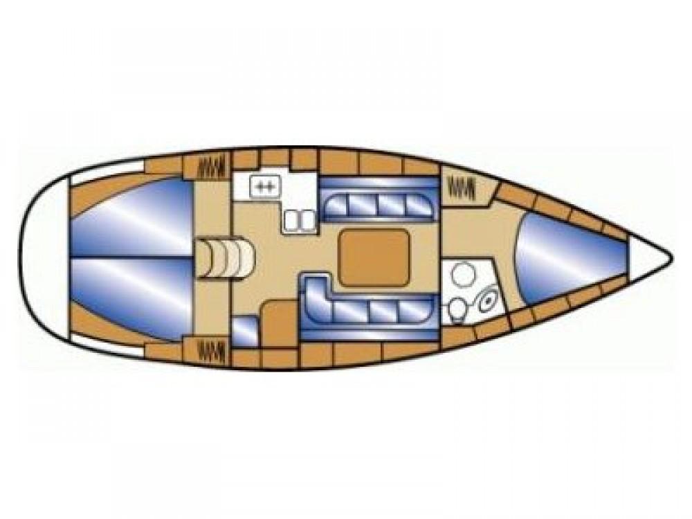 Huur Zeilboot met of zonder schipper Bavaria in Grad Zadar