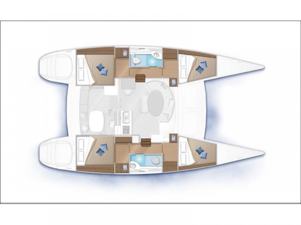 Verhuur Catamaran in Furnari - Lagoon Lagoon 380 S2