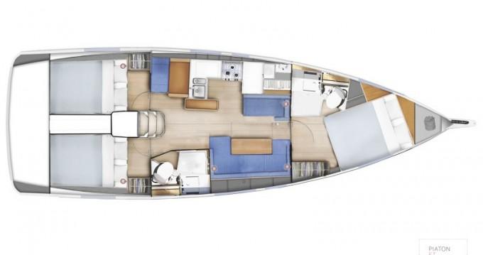 Verhuur Zeilboot in Olbia - Jeanneau Sun Odyssey 410