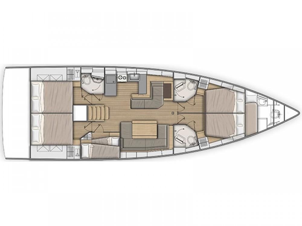 Huur Zeilboot met of zonder schipper Bénéteau in Capo d'Orlando