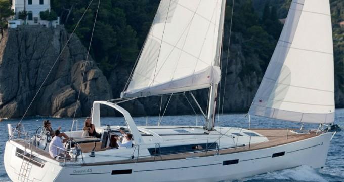 Bootverhuur Salerno goedkoop Oceanis 45