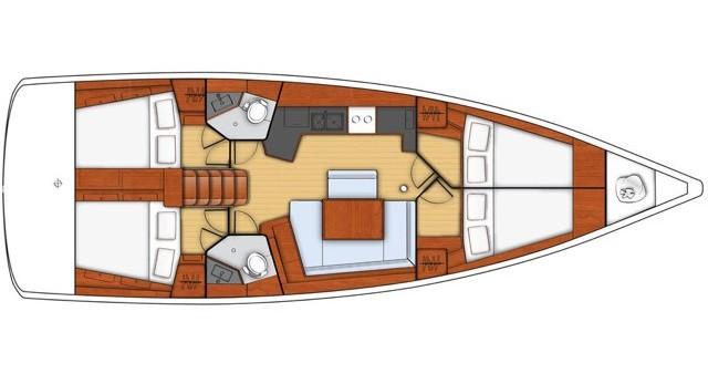 Bénéteau Oceanis 45 te huur van particulier of professional in Salerno