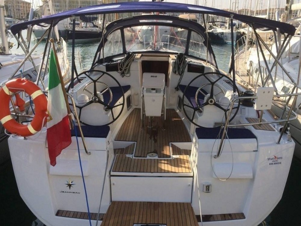 Jeanneau Sun Odyssey 409 te huur van particulier of professional in Trapani