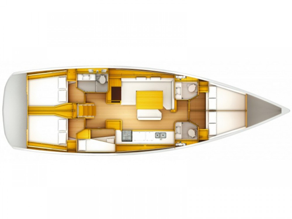 Jeanneau Sun Odyssey 519 te huur van particulier of professional in Trapani
