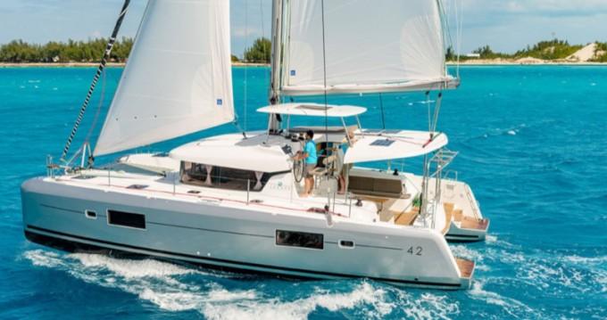 Lagoon Lagoon 42 te huur van particulier of professional in Capo d'Orlando