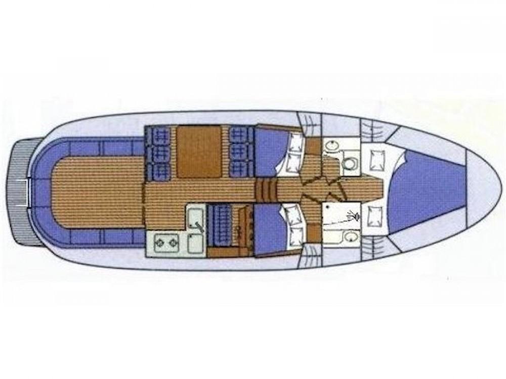 Verhuur Motorboot in Grad Zadar - Sas Vektor ADRIA 1002