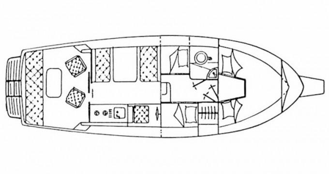Verhuur Motorboot in Općina Sali - Sas Vektor Adria 28 Luxus