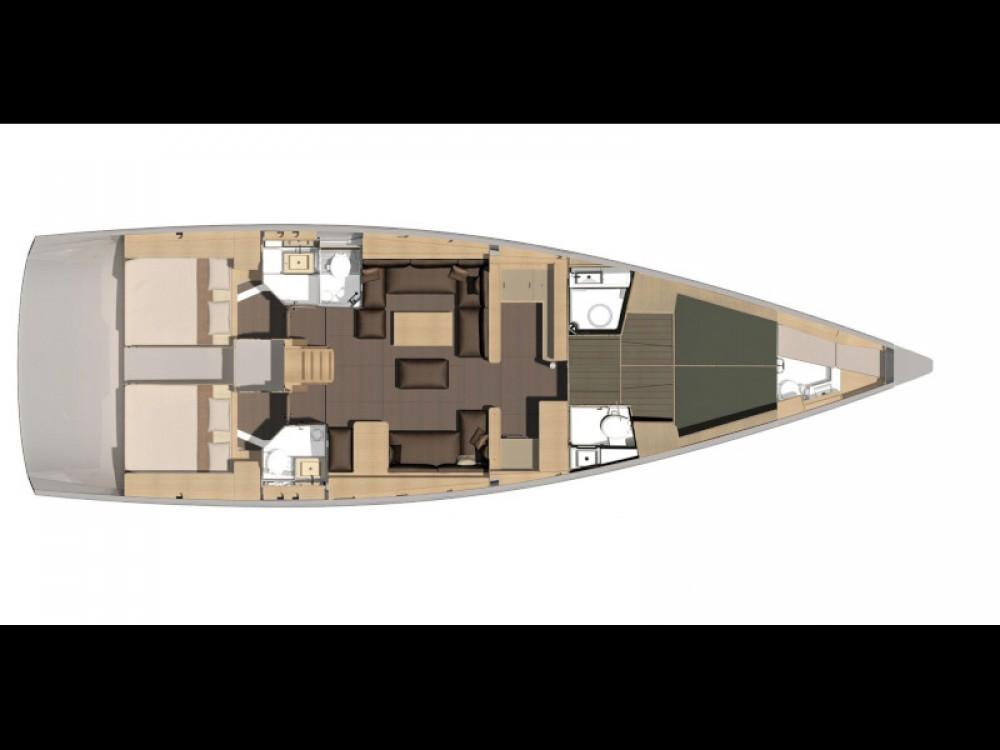 Bootverhuur Dufour Dufour 560 Grand Large in Capo d'Orlando Marina via SamBoat