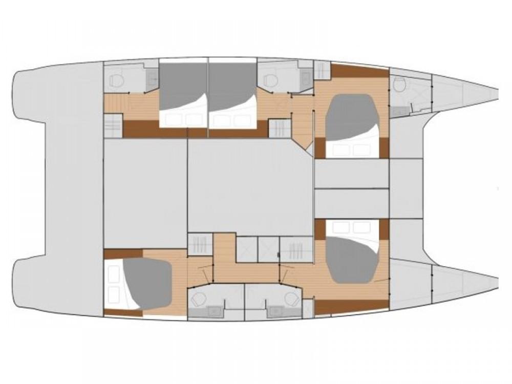 Catamaran te huur in Terranoa/Olbia voor de beste prijs