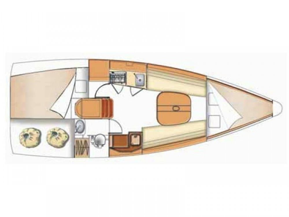 Huur Zeilboot met of zonder schipper Bénéteau in Kortgene