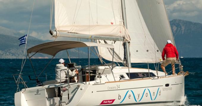 Verhuur Zeilboot in Lefkada (Island) - Bénéteau Oceanis 34