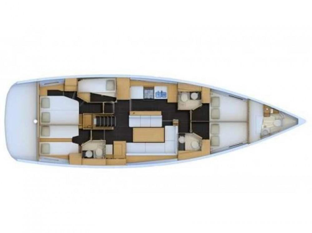 Bootverhuur Jeanneau Jeanneau 54 ( A/C ,GENERATOR,INVENTER ) in Marina de Alimos via SamBoat