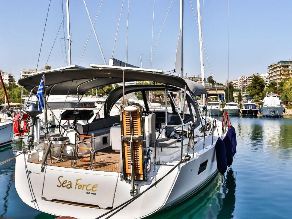 Verhuur Zeilboot in Marina de Alimos - Jeanneau Jeanneau 54 ( A/C ,GENERATOR,INVENTER )