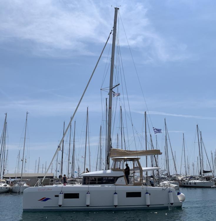 Huur Catamaran met of zonder schipper Lagoon in Álimos