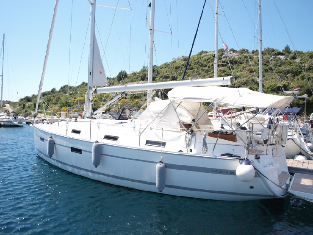 Verhuur Zeilboot in Primošten - Bavaria Bavaria 36