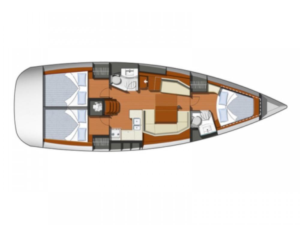 Huur een Jeanneau Sun Odyssey 42 i in Marina de Alimos